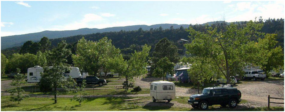 Rv Sites Turquoise Trail Campground And Rv Park In