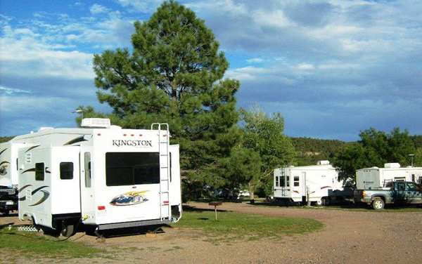 RV Sites at Turqouise Trails